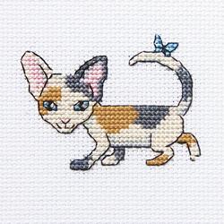 Cross Stitch Kit Curious Lucy - RTO