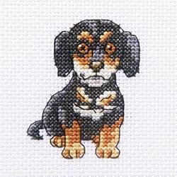 Cross Stitch Kit Curious Sherlock - RTO