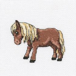Cross Stitch Kit Tibetan Horse - RTO