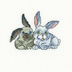 Cross Stitch Kit Brer Rabbits - RTO