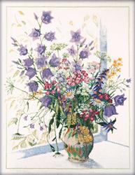Cross Stitch Kit Field flowers - RTO