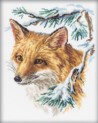 Cross Stitch Kit The fox - RTO
