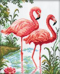 Cross Stitch Kit Flamingo - RTO