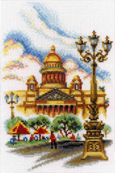Cross Stitch Kit Saint Isaac's Cathedral.St.Peter - RTO