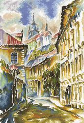 Borduurpakket Watercolor Prague - RTO