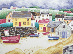 Cross Stitch Kit Fisherman's Village - RTO