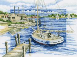 Cross Stitch Kit By the Pier - RTO