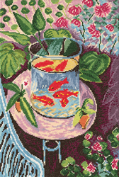 Cross Stitch Kit Red Fish - RTO