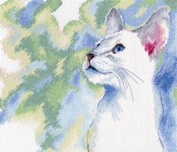 Cross Stitch Kit Feline Grace - RTO