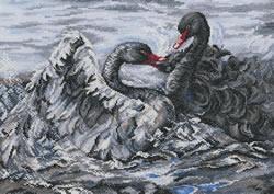 Borduurpakket Two Black Swans - RTO