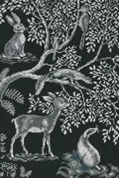 Cross Stitch Kit Forest Laces - RTO