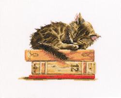 Cross Stitch Kit Cat's Dream - RTO