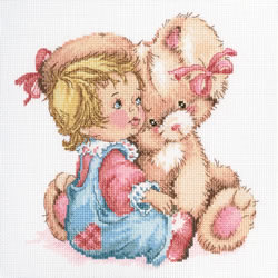 Cross stitch kit Tender bunny - RTO