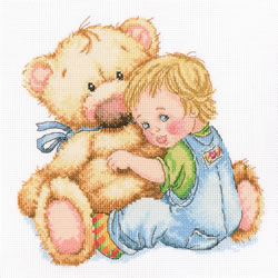 Cross stitch kit Beloved Teddy - RTO