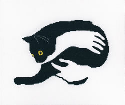 Borduurpakket Among Black Cats - RTO