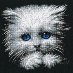 Cross stitch kit Fluffy - RTO