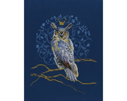 Borduurpakket King Eagle Owl - RTO