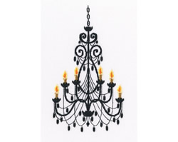 Cross stitch kit Luxurious Chandelier - RTO