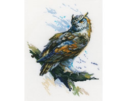Cross stitch kit Eagle Owl - RTO