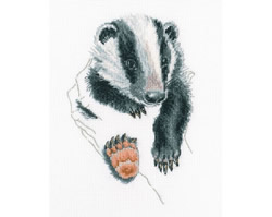 Cross stitch kit In Palms - Badger - RTO