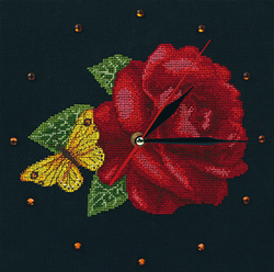 Cross Stitch Kit Time for Roses - RTO