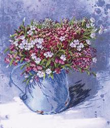 Borduurpakket Delicate Bouquet - RTO