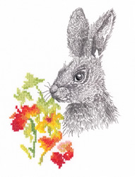 Borduurpakket Fairy Tales of the Old Forest - Rabbit - RTO