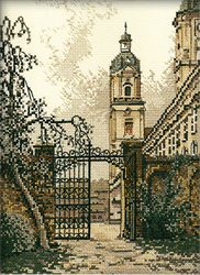Cross Stitch Kit The Gate in the Town - RTO