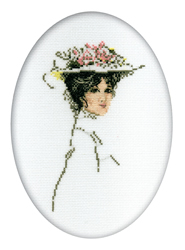 Cross Stitch Kit Victorian Lady - RTO