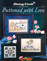 Cross Stitch Chart Buttoned with Love - Stoney Creek