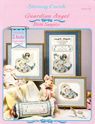 Cross Stitch Chart Guardian Angel Birth - Stoney Creek