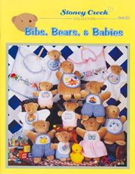 Cross Stitch Chart Bibs, Bears & Babies - Stoney Creek