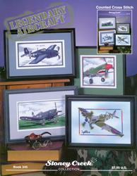 Cross Stitch Chart Legendary Aircraft - Stoney Creek