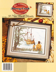 Cross Stitch Chart A New World Awaits - Stoney Creek