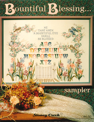 Cross Stitch Chart Bountiful Blessing - Stoney Creek