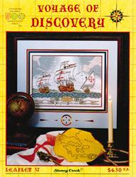 Borduurpatroon Voyage of Discovery - Stoney Creek