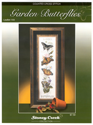 Cross Stitch Chart Garden Butterflies - Stoney Creek