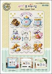 Borduurpatroon Mini Cookie Time - Soda Stitch