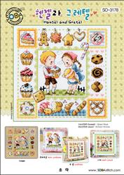 Cross Stitch Chart Hansel and Gretel - Soda Stitch