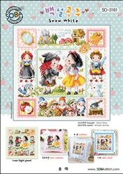 Cross Stitch Chart Snow White - Soda Stitch