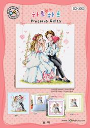 Borduurpatroon Precious Gifts - Soda Stitch