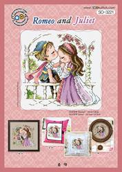 Borduurpatroon Romeo and Juliet - Soda Stitch