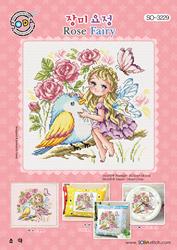 Borduurpatroon Rose Fairy - Soda Stitch