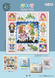 Cross stitch chart Peter Pan - Soda Stitch