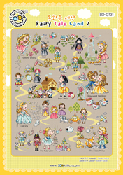 Borduurpatroon Fairy Tale Land 2 - Soda Stitch