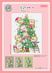 Cross stitch chart Tree Bear - Soda Stitch
