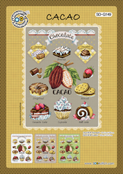 Cross stitch chart Cacao - Soda Stitch