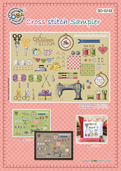 Cross stitch chart Cross Stitch Sampler - Soda Stitch