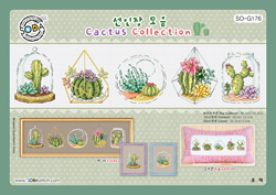 Borduurpatroon Cactus Collection  - Soda Stitch