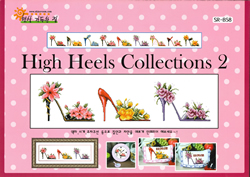 Borduurpatroon High Heels Collections 2 - Shiny Room